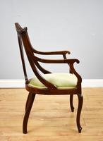Victorian Mahogany & Inlaid Lounge Suite (14 of 23)