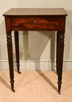 Regency Period Gillows Work Lamp Table