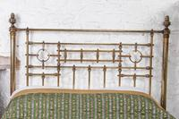 Handsome Victorian All Naturally Aged Brass King Size Bed (4 of 10)