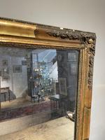 Small Antique Gilt Mirror (2 of 6)
