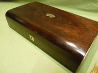 French Inlaid Rosewood Games Box + Accessories c.1880 (10 of 11)