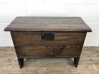 Small 18th Century Joined Oak Coffer (2 of 18)