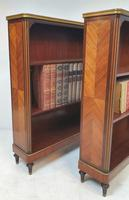 Pair of 19th Century Marble Topped Open Bookcases (3 of 5)