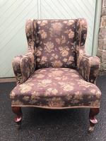 Antique Armchair By Cornelius V Smith For Recovering (5 of 7)