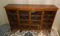 Mahogany Breakfront Bookcase (5 of 6)