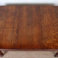 Oak Dining Table 6 Seater Victorian Wild Golden Oak 19th Century Solid (15 of 16)