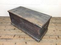 Rustic Antique Wooden Trunk (3 of 8)