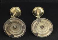 Pair of Antique Serpent Decorated Brass Candlesticks (5 of 5)