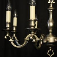 French Silver Plated 8 Light Chandelier (2 of 10)