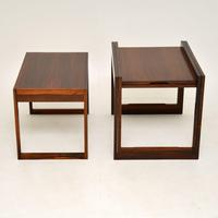 Danish Rosewood Stacking Nest of Tables by CFC Silkeborg (3 of 12)