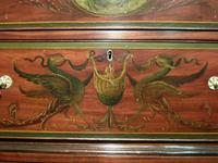 Georgian Mahogany Polychrome Painted Chest on Chest (7 of 12)