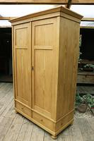Quality! Large Old Pine Double 'Knock Down' Wardrobe - We Deliver! (4 of 17)