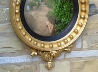 Outstanding Regency Giltwood Mirror With Eagle Crest (9 of 10)