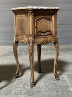 Pair of French Marble Top Bedside Cupboards (25 of 26)