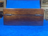 Victorian Rosewood Jewellery Box  With Inlay (7 of 15)