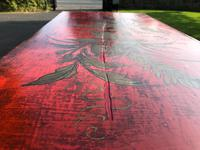 Antique Lacquered Chinoiserie Chest of Drawers (7 of 11)