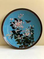 Antique Pair of Japanese Cloisonne Plates, Meiji Period (7 of 12)