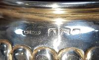 Pair of Sterling Silver Salts t/w Blue Liners (3 of 3)