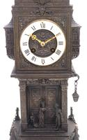 Antique French Tower Model 8-day Gothic Tower Mantle Clock (3 of 13)