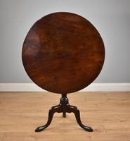 George III Mahogany Tilt Top Table Tripod Table (5 of 7)