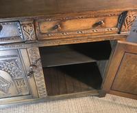 Quality Carved Oak Sideboard (14 of 14)