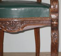 Carved Oak Victorian Desk Chair (9 of 9)