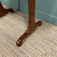 Victorian Mahogany Antique Stretcher Table / Sofa Table (4 of 4)