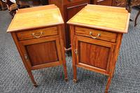French Satinwood Night Stands