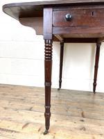 Antique Regency Mahogany Pembroke Table (9 of 10)