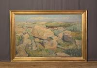 Large Swedish Landscape Gustaf Carlstrom