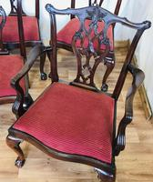 Set of Eight Oversized Dining Chairs (8 of 18)