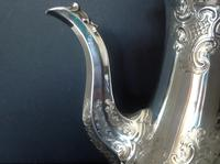 Antique Victorian Silver Coffee Pot - 1847 (7 of 12)
