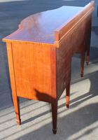 1920s Mahogany Bow Front Sideboard with Inlay by Waring & Gillow (3 of 5)