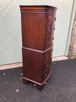 Antique Slim Mahogany Chest on Chest (7 of 7)