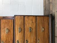 Early 19th Century Oak Secretaire Tallboy Chest on Chest (13 of 17)