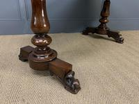 Early Victorian Rosewood Library Table (14 of 15)