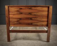 Art Deco Walnut Standard Double Bed (8 of 11)