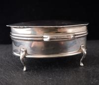 Antique Sterling Silver Jewellery Casket, Box (12 of 15)