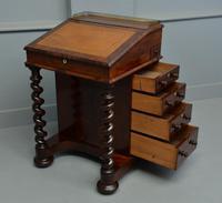 William IV Flame Mahogany Davenport Desk (10 of 18)