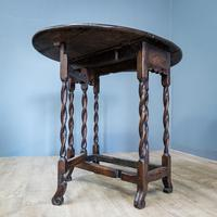 Early 18th Century Drop Leaf Table (6 of 10)