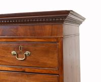 Georgian Chest on Chest Mahogany Antique 1820 (5 of 16)