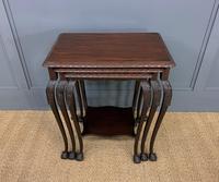 Nest of 3 Mahogany Tables (8 of 12)