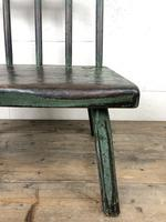 Unusual Primitive Style Painted Stick Chair (3 of 10)