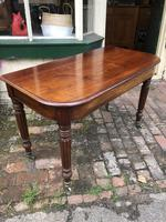 Antique Mahogany Side Table Desk (5 of 11)