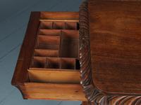 Antique Regency Mahogany Side Table (5 of 19)