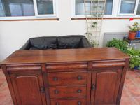 Rustic Pine Dresser Base 6 Drawer 1800 (9 of 10)