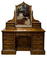 Burr Walnut Maple & Co Dressing c.1890 (9 of 10)