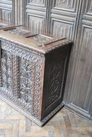 Antique Gothic French Coffer (3 of 7)