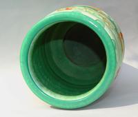 Charlotte Rhead Tube Lined Vase Manchu Dragon Design (5 of 9)
