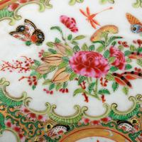 19th Century Chinese Canton Plate (7 of 8)